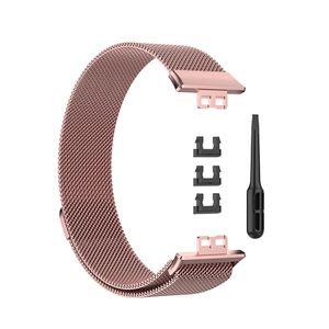 Uhrenarmband in Rosarosa für Huawei Watch Fit Uhrenzubehör