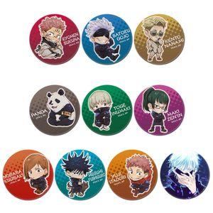 10Pcs Anime Jujutsu Kaisen Sukuna Gojo Satoru Itadori Yuji Fushiguro Megumi Brosche Abzeichen Knopf Pin Zubehör für Kleidung Hut Rucksack Dekoration