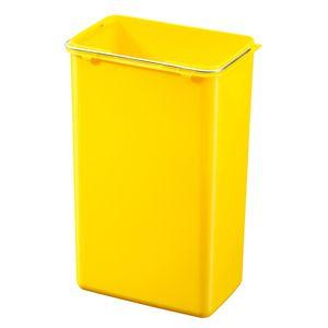 Hailo Inneneimer 9l aus Kunststoff gelb für Trento, Öko, Öko Plus