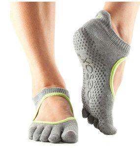 Fitness-Mad yoga-Socken Bellarina Baumwolle/Polyester grau Größe 44-48