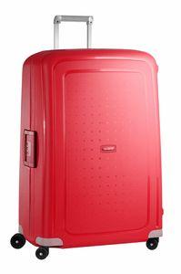 Samsonite - S'Cure Trolley mit 4 Rollen 81cm59244-1235 - Crimson Red - 59244-1235