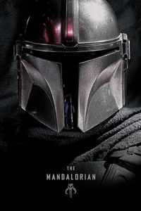 The Mandalorian Poster Dark  91,5 x 61 cm