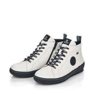 Remonte Schnürschuh Sneaker RemonteTEXMembran  Leder weiß S  D in Weiß, Größe