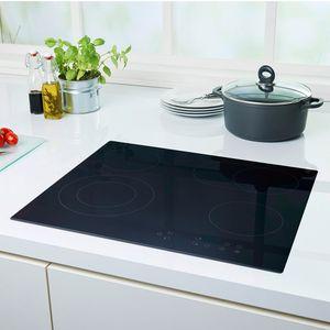 PKM Autarkes Einbau-Kochfeld Glaskeramik Touch Control KF4-2KB 59 x 52 cm
