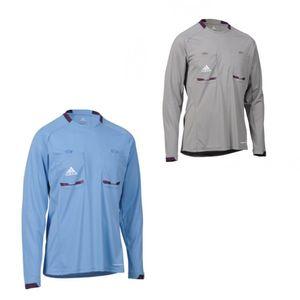 Adidas Schiedsrichter Langarm Trikot  Referee Jersey, Größe:L, Farbe:Grau