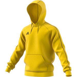 adidas Core 18 Hoodie Kinder - gelb 164