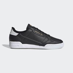 Adidas Originals Continental 80 Core Black / Core Black / Footwear White EU 42