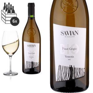 6er Karton 2019Pinot Grigio delle Venezie von Savian Vini - Weißwein