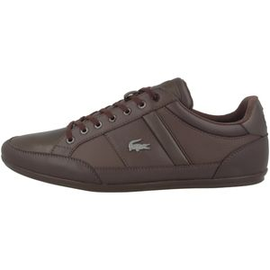 Lacoste Chaymon BL 1 Sneaker Herren Braun (37CMA0094 DB2) Größe: 46