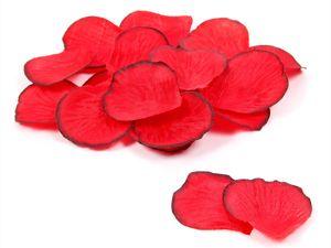Rosenblätter künstlich 500 Stück , Farbe wählen:rot schwarz