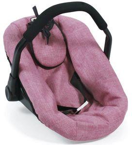 Bayer Chic 2000 708 70 Puppen-Autositz, Jeans Pink