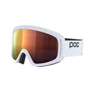 POC Opsin Clarity Skibrille Damen und Herren Snowboardbrille , Farbe:hydrogen white, Glaswahl:spektris orange