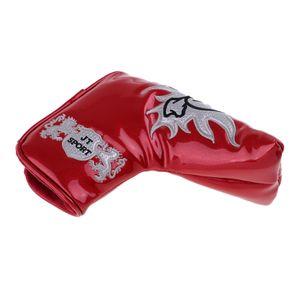 1 Stück Golf Putter Tasche Farbe rot