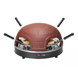 Clatronic Mini Pizzaofen PO 3681 für 4 Personen 900 W