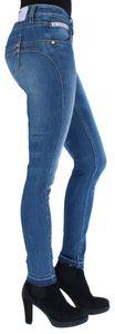 Herrlicher Touch Cropped Damen Skinny Jeans 5320 D9666 634 Bliss, Herrlicher Farben:634 bliss NOS, Herrlicher Jeans:W32