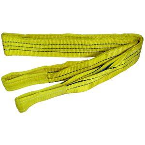 Hebeband gelb, Tragkraft 3000 Kg, 3,0 m x 90 mm