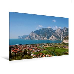 Calvendo  Textil-Leinwand 120 cm x 80 cm quer Ein Motiv aus dem Kalender Gardasee - lago di Garda by Sascha Ferrari, Ferrari Sascha; 7278762
