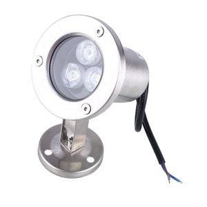 3W LED Flutlicht Outdoor Unterwasser Scheinwerferlicht Teichlampe Warmweiß