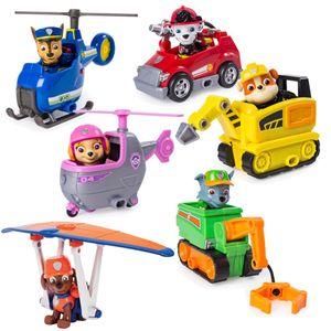 Ultimate Rescue   Mini Fahrzeuge mit beweglicher Spiel-Figur   Paw Patrol, Figur:Marshall Löschwagen
