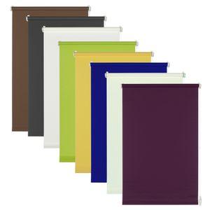 Seitenzug-Rollo Easy Fix, Farbe:dunkelblau, Breite:75 cm, Länge:150 cm
