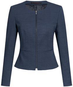 Größe 32 Greiff Corporate Wear Modern Damen Blazer Slim Fit Marine PINPOINT Modell 1427