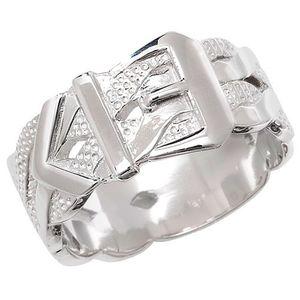 Modischer 925 Sterling Silber Herren - Ring, 64 (20.4); WJS22176