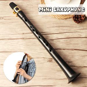 Tragbares Pocket Sax Mini Saxophon Kleines Saxophon Xaphoon mit Tragetasche Holzblasinstrument
