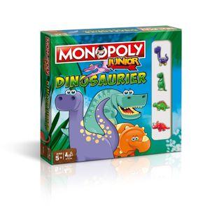 Monopoly Junior Dinosaurier Dino Brettspiel Gesellschaftsspiel Kinder Spiel
