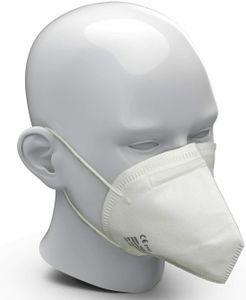 10x FFP2 Atemschutzmaske  FFP2 KN95 Maske Staubschutzmaske Atemmaske Staubmaske 10 Stück verpackt im hygienischen PE-Beutel