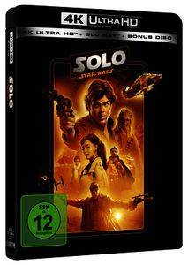 Star Wars SOLO: A STAR WARS STORY - 4K UHD EDITION (LINE LOOK 2020)