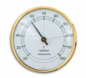 TFA 40.1002 Sauna-Thermometer gold/weiß, SY-TFA