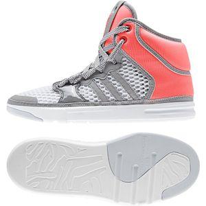 adidas x Stella McCartney Irana High Top Sneaker coole Damen Basketball-Schuhe Grau/Rosa, Größe:38