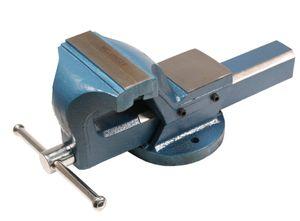 WELDINGER Schraubstock pro 150 mm Backenbreite feste Basis Rohrspannbacken