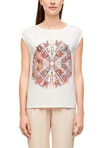 s. O. Black Woman T-Shirt, Farbe:BATIK FRON, Größe:38
