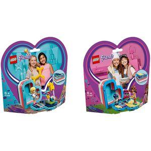 LEGO? 41386 41387 Friends 2er Set Sommerliche Herz