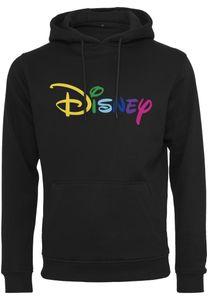 Merchcode Hoodie Disney Rainbow Logo EMB Hoody Black-M