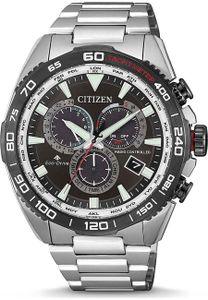 Citizen CB5036-87X Eco Drive Uhr Herrenuhr Datum Alarm silber