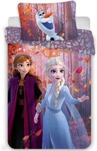 Disney Frozen 2 Bettwäsche Eiskönigin Anne Elsa Snowflake Kopfkissen Bettdecke 140x200
