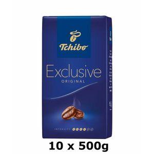 GroßhandelPL Tchibo Exclusive Kaffee 10x500g, geröstete Bohnen