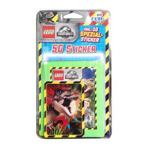Lego Jurassic-World - Sammelsticker - 1 zufälliges Blister