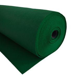 Bastelfilz 1m Meterware Filz 90cm x 1,5mm Dekofilz Taschenfilz Filzstoff 39 Farben, Farbe:dunkelgrün