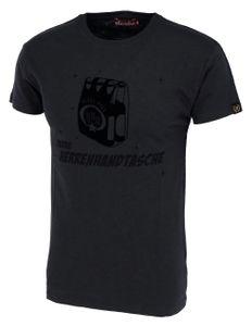 DERBE HAMBURG M-04-TSFL-HERRENHANDTASCHE Herren T-Shirt, Größe:XL, Derbe Hamburg Farben:Phantom