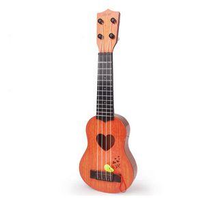 44cm Musik Bildung Entwicklung Kinder Geburtstag Weihnachtsgeschenk Mini Ukulele Simulation Gitarre Musikinstrumente Spielzeug