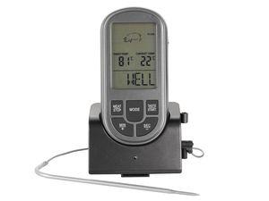 Funk-Grillthermometer mit 8 Garprogrammen 5 Garstufen Fleisch Bratenthermometer