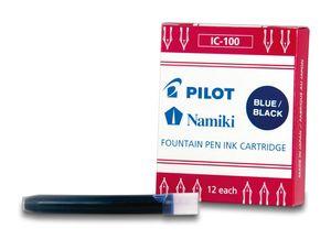 PILOT Tintenpatronen Namiki für Füllhalter Capless nacht blau (12 Patronen)