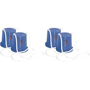 Hudora 76073-Blau-Blau 2 Paar Topfstelzen &quotJoey&quot (