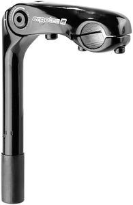 Humpert Kobra Vario Vorbau Schaft 22,2x180mm Lenker Ø25,4mm schwarz Länge 110mm