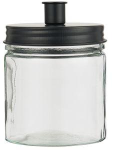 IB Laursen ApS - Kerzenglas für Stabkerzen schwarz