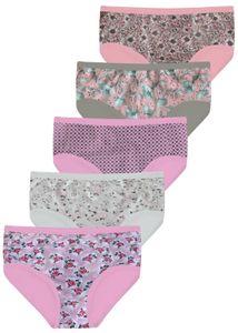 5 Damen Taillenslips Slips aus Baumwolle Gr. Modell 1 46-48