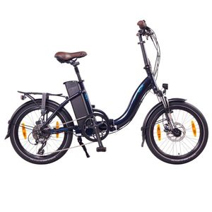 "NCM Paris+, 20"" dunkelblau, E-Faltrad E-Klapprad, Damen und Herren, 36V 19Ah 684Wh, Heckmotor"